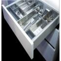 Plechové bočnice BELLABOX s tlumením 450 mm na 40 kg - Bellagi