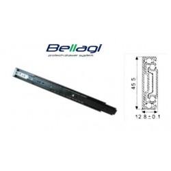 Ložiskový plnovýsuv PUSH OPEN Bellagi 450 mm na 45 kg