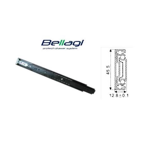 Ložiskový plnovýsuv PUSH OPEN Bellagi 300 mm na 45 kg